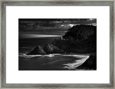 Keeping Watch Framed Print by Andrew Soundarajan