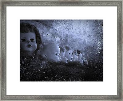 Keeping Watch Framed Print by David Dehner