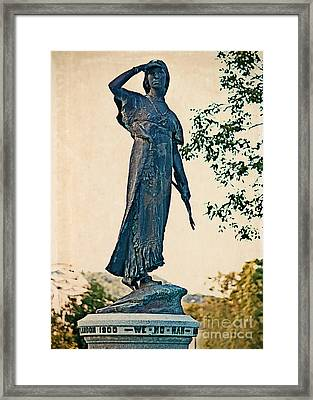 Framed Print featuring the photograph Keeping Watch by Kari Yearous