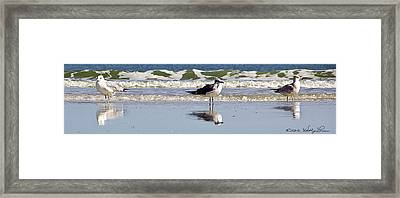 Framed Print featuring the photograph Keeping Watch by Kathy Ponce