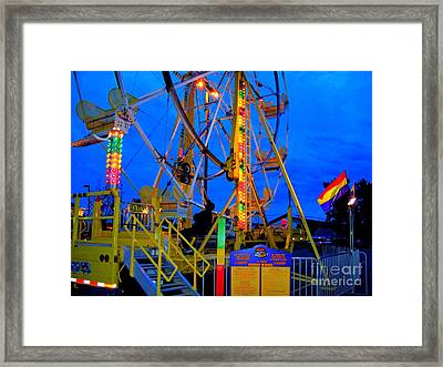 Keeping Watch Framed Print by MJ Olsen