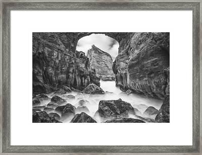 Kehole Arch Framed Print by Darren  White