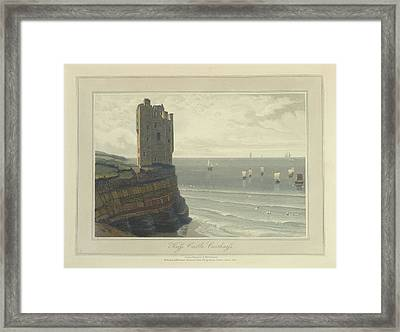 Keiss Castle In Caithness Framed Print by British Library