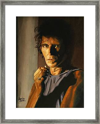 Keith Framed Print by Bonnie Perlin