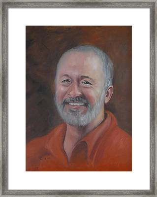 Framed Print featuring the painting Keith by Carol Berning