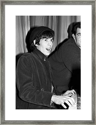 Keith Richards Adelphi Theatre Dublin 1965 Framed Print