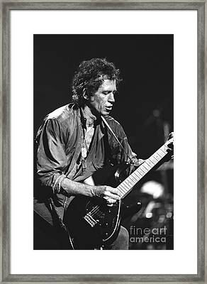 Keith Richards Framed Print by Concert Photos