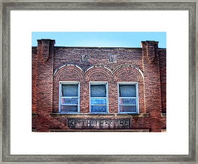 Keith Theater Framed Print by Sylvia Thornton