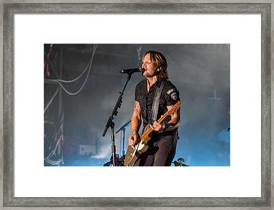 Keith Urban 3 Framed Print