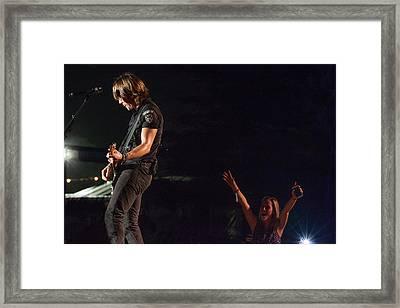 Keith Urban 4 Framed Print