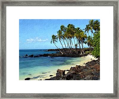 Kekaha Kai II Framed Print