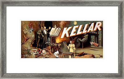 Kellar Framed Print by Terry Reynoldson