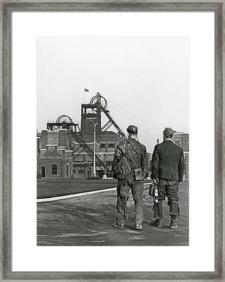 Kellingly Colliery Framed Print by Crown Copyright/health & Safety Laboratory Science Photo Library