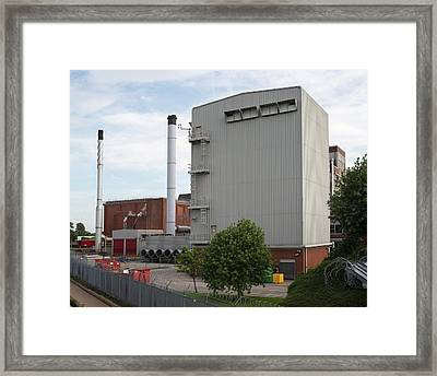 Kellogs Cereal Factory Framed Print by Robert Brook