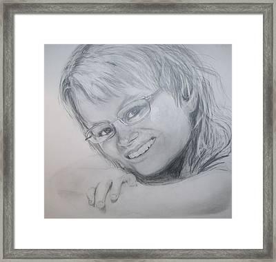 Kelly Framed Print