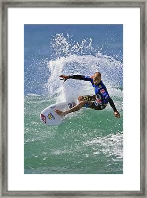 Kelly Slater  Eom7785 Framed Print by David Orias