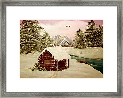 Kelly's Retreat Framed Print by Sheri Keith