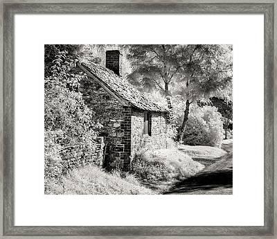 Kelmscott Cottage Framed Print