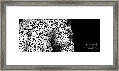 Kelpies Framed Print