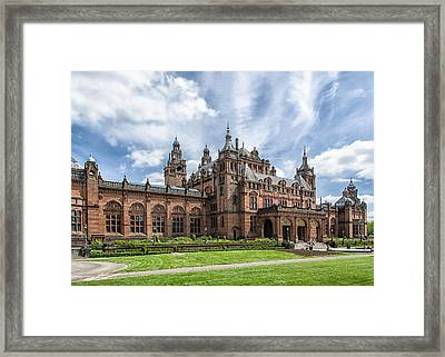 Kelvingrove Art Gallery And Museum Framed Print