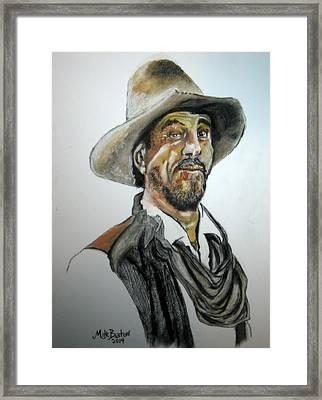 Ken Curtis As Festus Framed Print