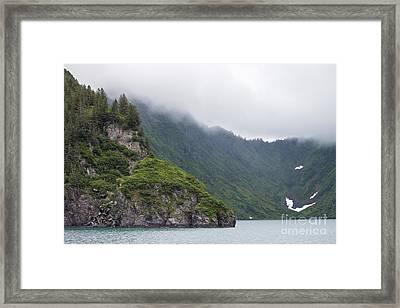 Kenai Fjords Alaska Framed Print