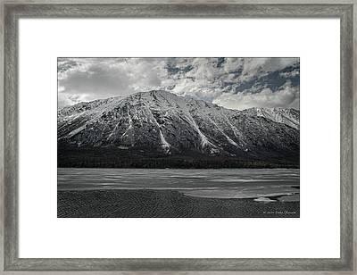 Kenai Lake Framed Print