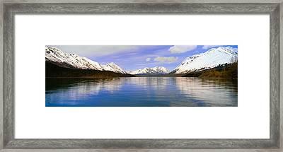 Kenai Lake, Kenai Peninsula, Alaska Framed Print by Panoramic Images