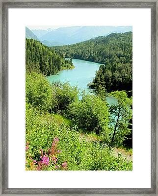 Kenai River Framed Print