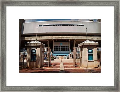 Kenan Memorial Stadium - Gate 6 Framed Print by Paulette B Wright