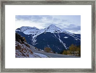 Kendall Mountain Morning Framed Print