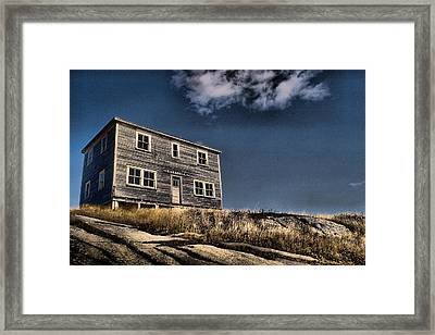 Kendell Store Pushthrough Nl Framed Print by Douglas Pike