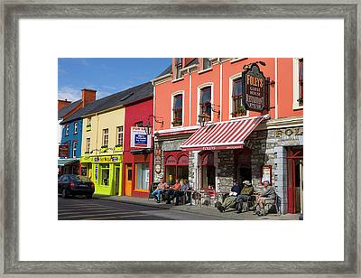 Kenmare County Kerry Ireland Shop Fronts Framed Print by Tom Norring