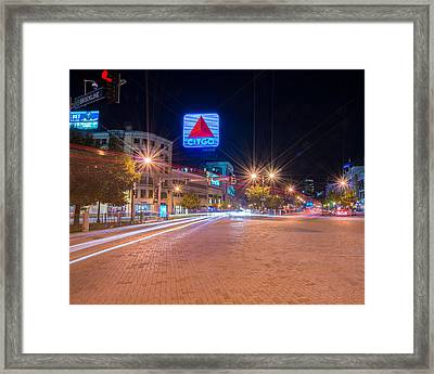 Kenmore Square Framed Print