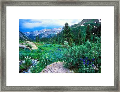 Kennebec Pass Framed Print