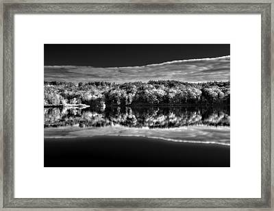 Kennebec Reflections Framed Print