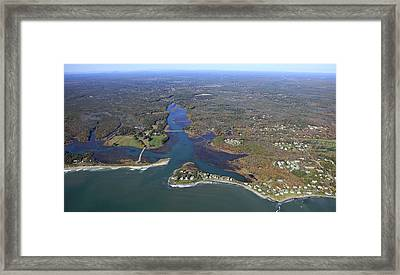 Kennebunk, Main Framed Print by Dave Cleaveland