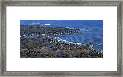 Kennebunk, Maine Framed Print by Dave Cleaveland