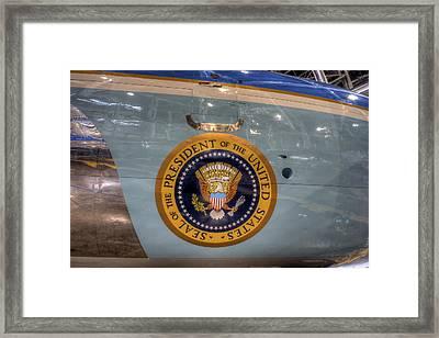 Kennedy Air Force One Framed Print