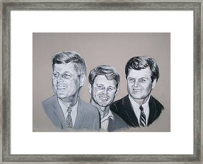 Kennedy Brothers Framed Print