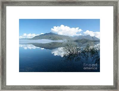 Kennedy Lake Framed Print by Frank Townsley