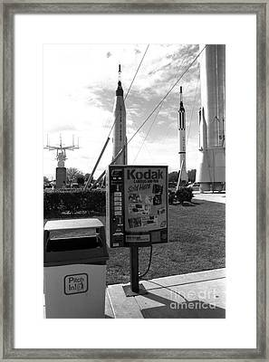 Kennedy Space Center Cape Canaveral Framed Print by Edward Fielding