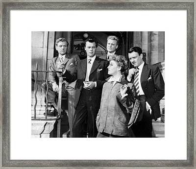 Kenneth More In Doctor In The House  Framed Print
