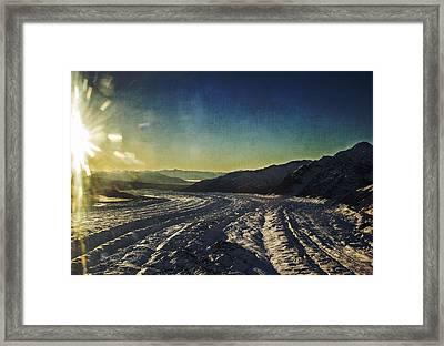 Kennicott Glacier Framed Print