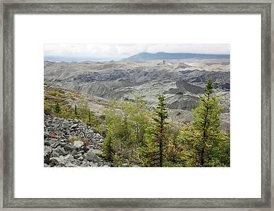 Kennicott Glacier Framed Print by Jim West