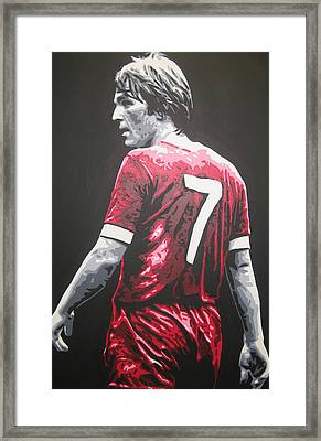Kenny Dalglish - Liverpool Fc 2 Framed Print