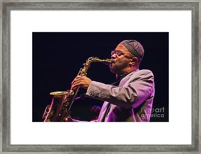 Kenny Garrett Framed Print