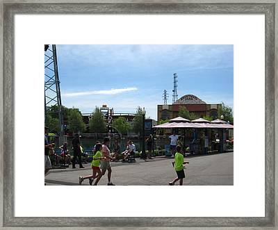 Kenny Wood - 12121 Framed Print by DC Photographer