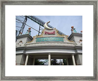 Kenny Wood - 12124 Framed Print by DC Photographer