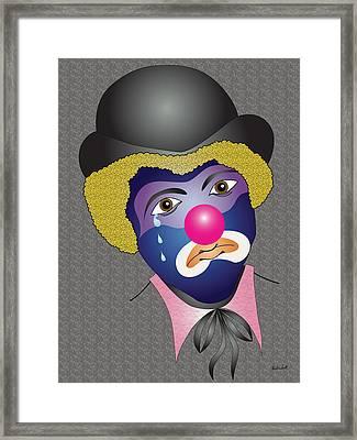Kenny's Clown Framed Print